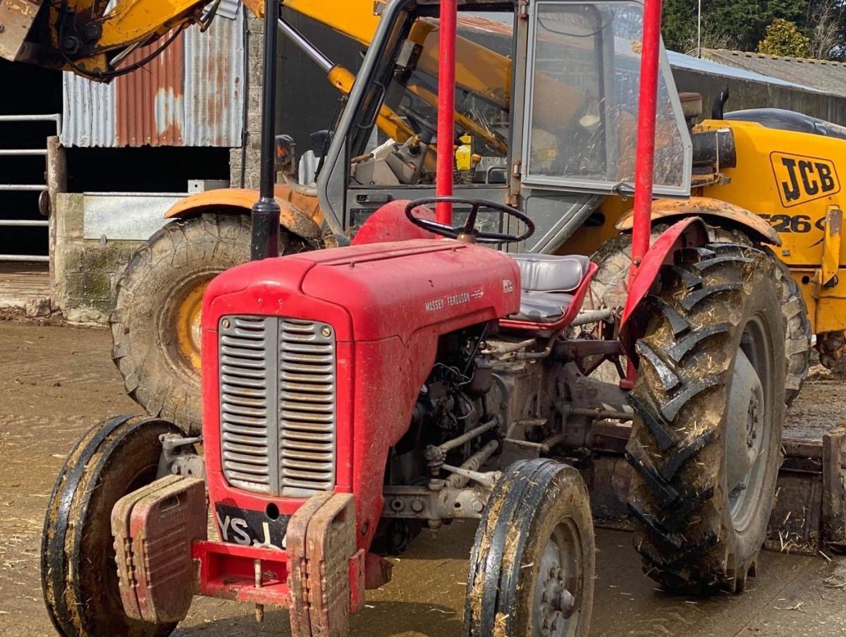 Vintage Tractor Shed